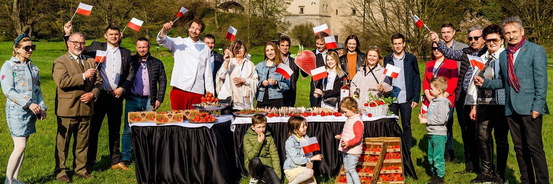 Sezon na polskie truskawki zaczyna się w kwietniu