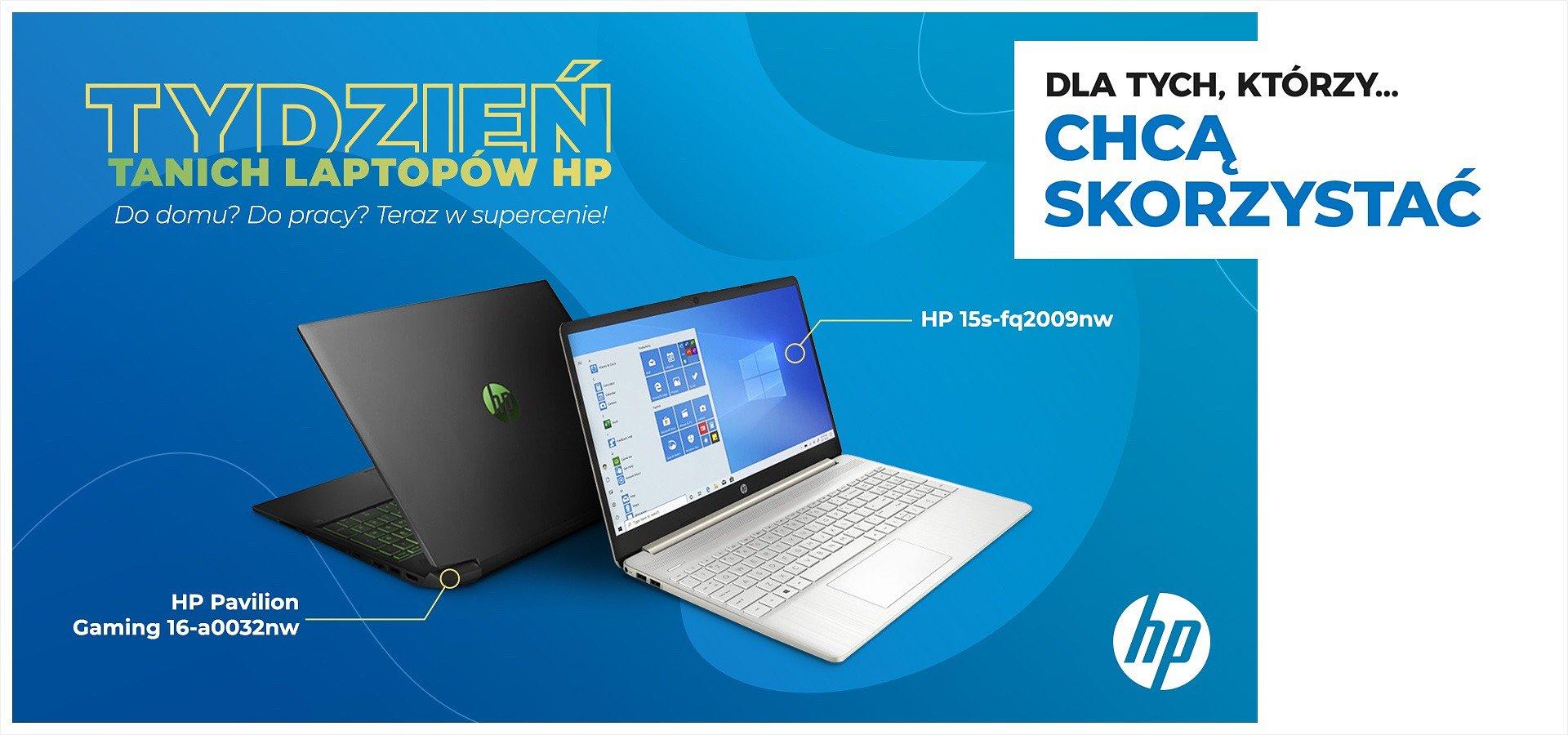 Startuje tydzień tanich laptopów HP!