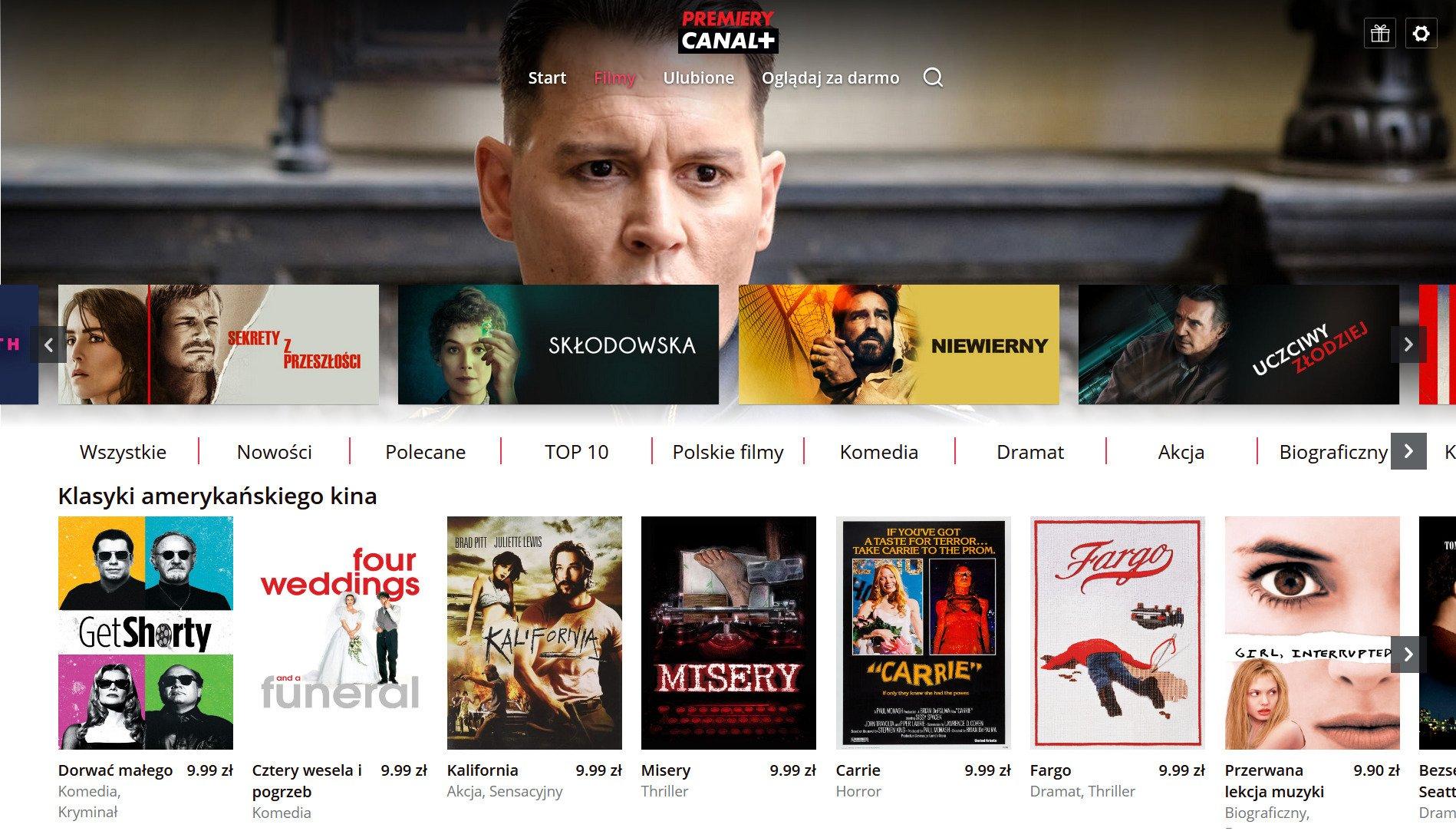 Filmy wytwórni Metro Goldwyn Mayer dostępne w ofercie na życzenie CANAL+ Polska