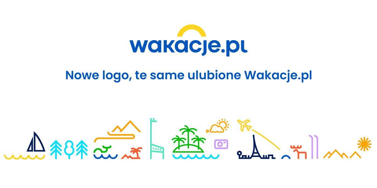 Wakacje.pl z nowym logo i identyfikacją wizualną