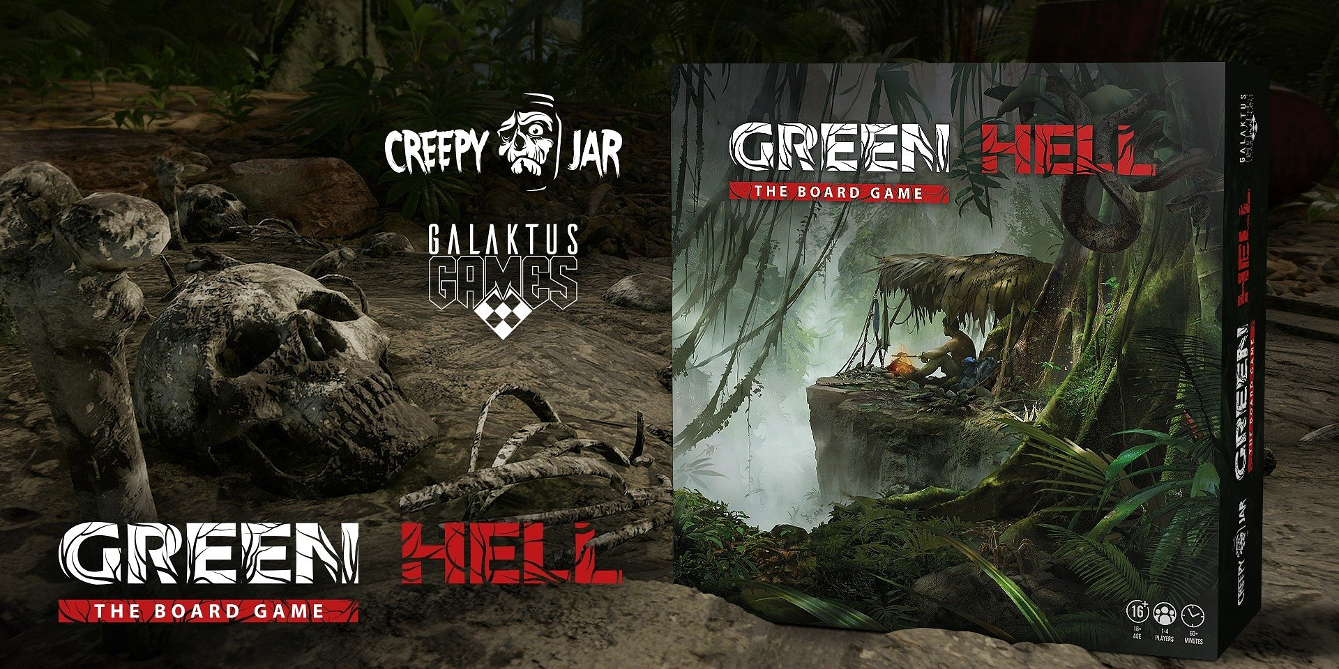 Green Hell: The Board Game is starting its Kickstarter Campaign soon. Experience the other side of the Amazonian survival drama with your friends.