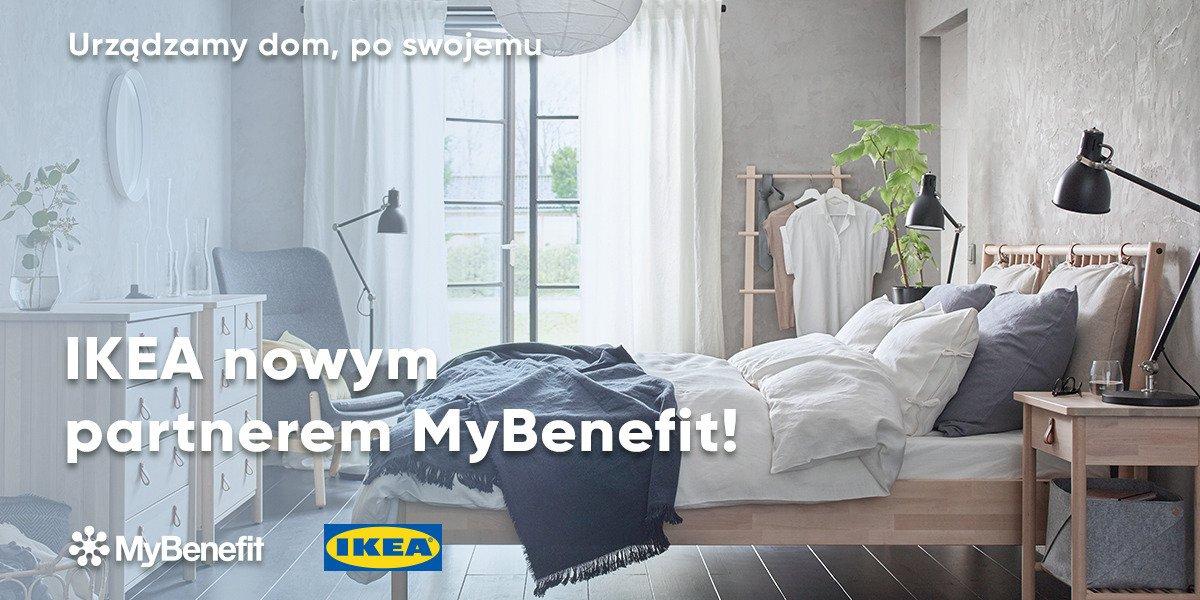 Zakupy w sklepach IKEA nowym benefitem pracowniczym - MyBenefit i IKEA nawiązały współpracę.
