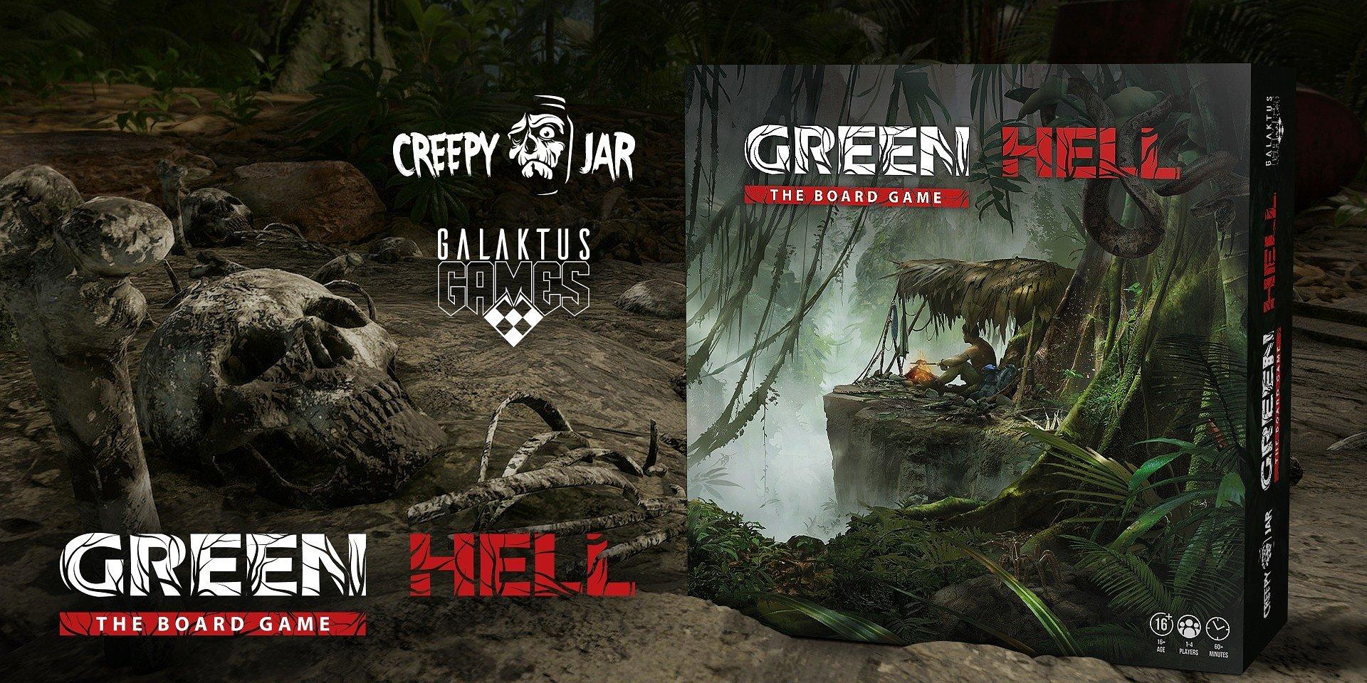 Настолка по игре Green Hell выходит на Kickstarter. Вместе со своими друзьями вы сможете пережить драму в джунглях Амазонки глазами спасателей.