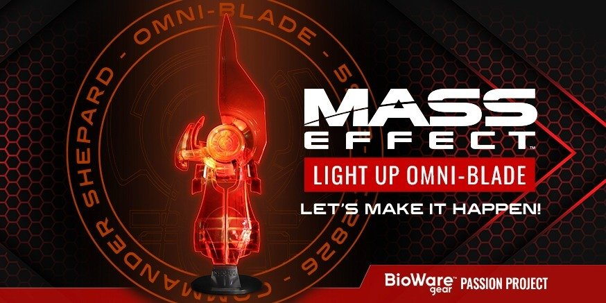 Mass Effect Light-Up Omni-Blade Replica Passion Project