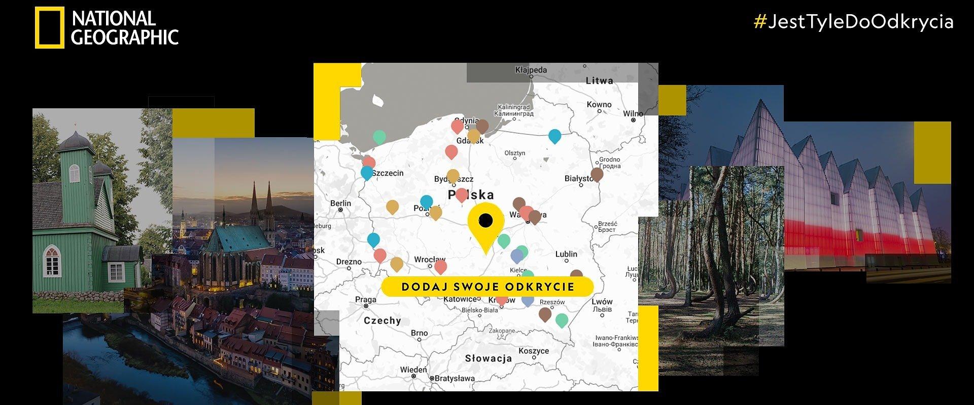 #JestTyleDoOdkrycia – rusza kampania National Geographic