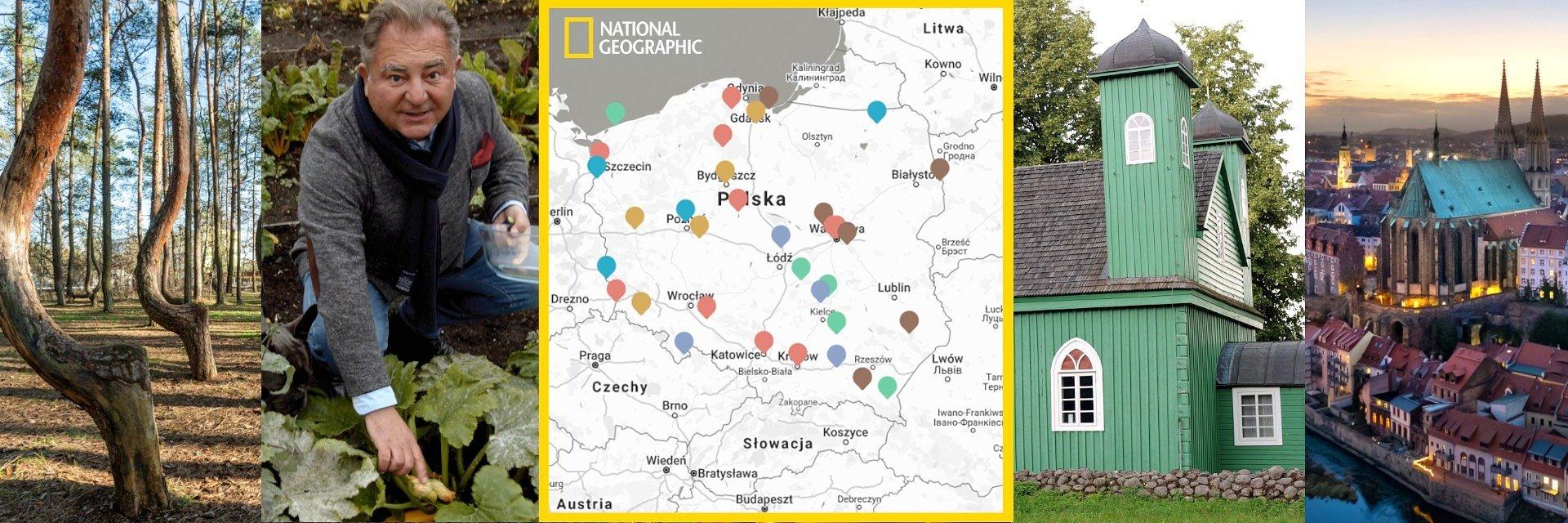 Interaktywna mapa Polski #JestTyleDoOdkrycia – szlakiem lokalnych odkryć na majówkę.