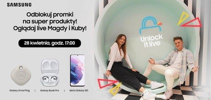 Samsung organizuje pierwszy w Polsce livestream marki na platformie TikTok