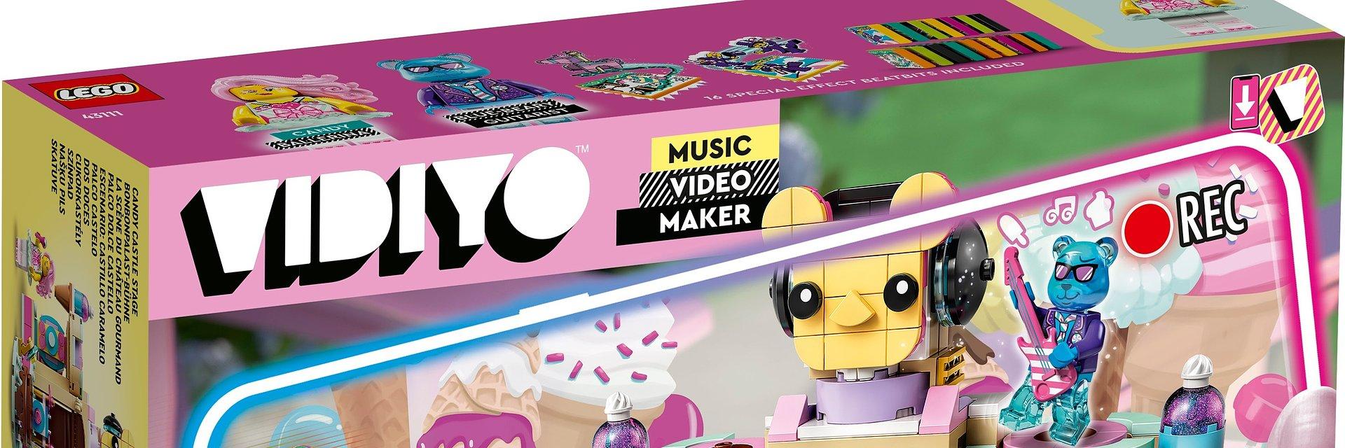 Jeszcze więcej zabawy z nowymi zestawami LEGO® VIDIYO™
