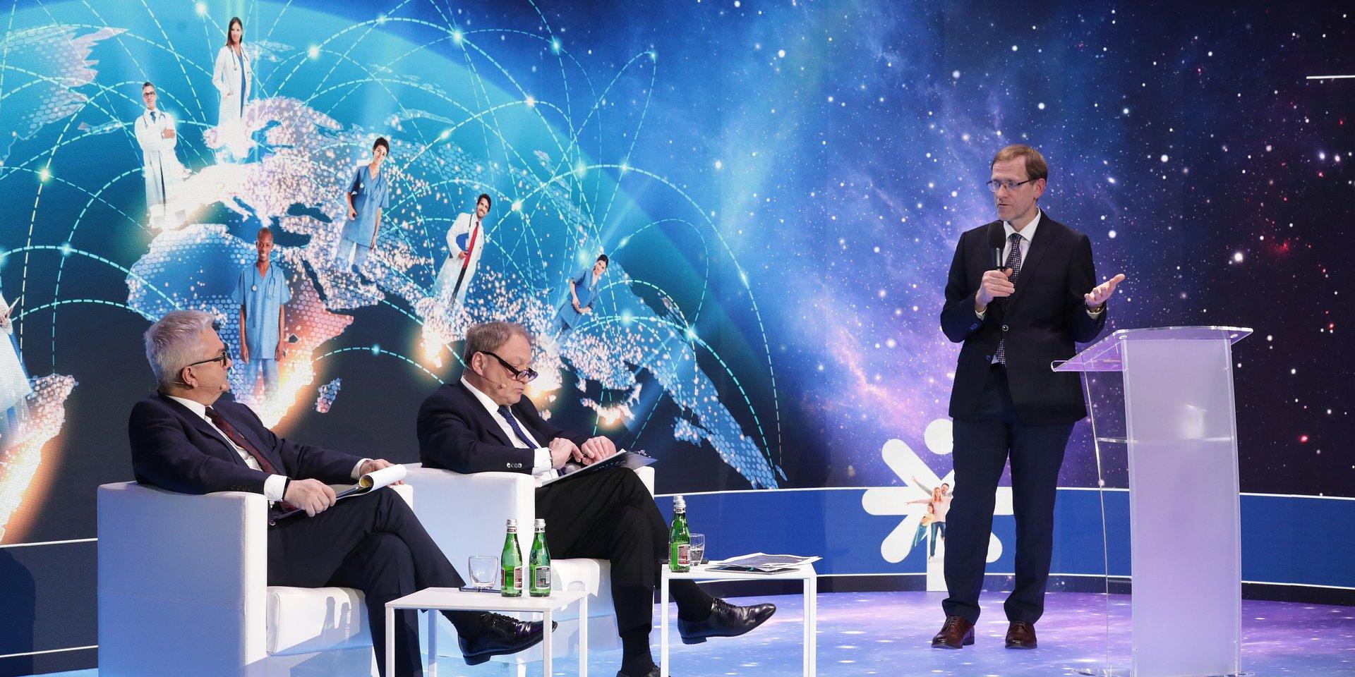 """Międzynarodowa Konferencja Adamedu """"Kolejny rok pandemii i nowe wyzwania w służbie zdrowia"""""""