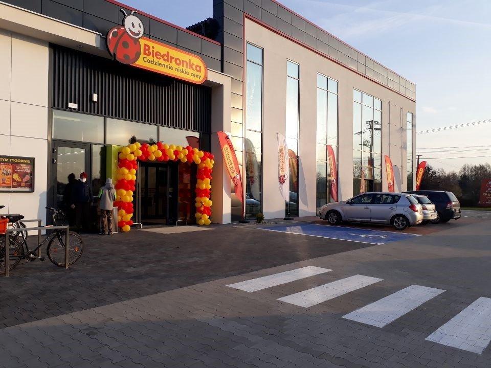 Dziewiąta Biedronka w Ostrołęce zaprasza na zakupy