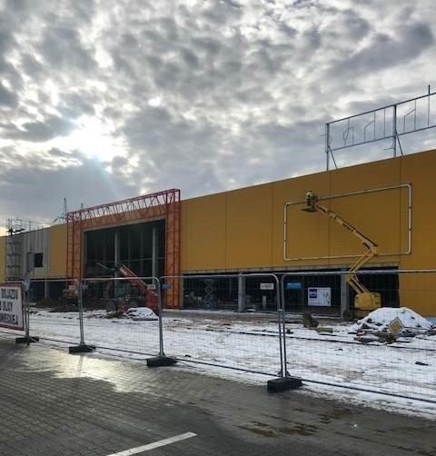 Trwa budowa nowego Salonu Agata w Bydgoszczy