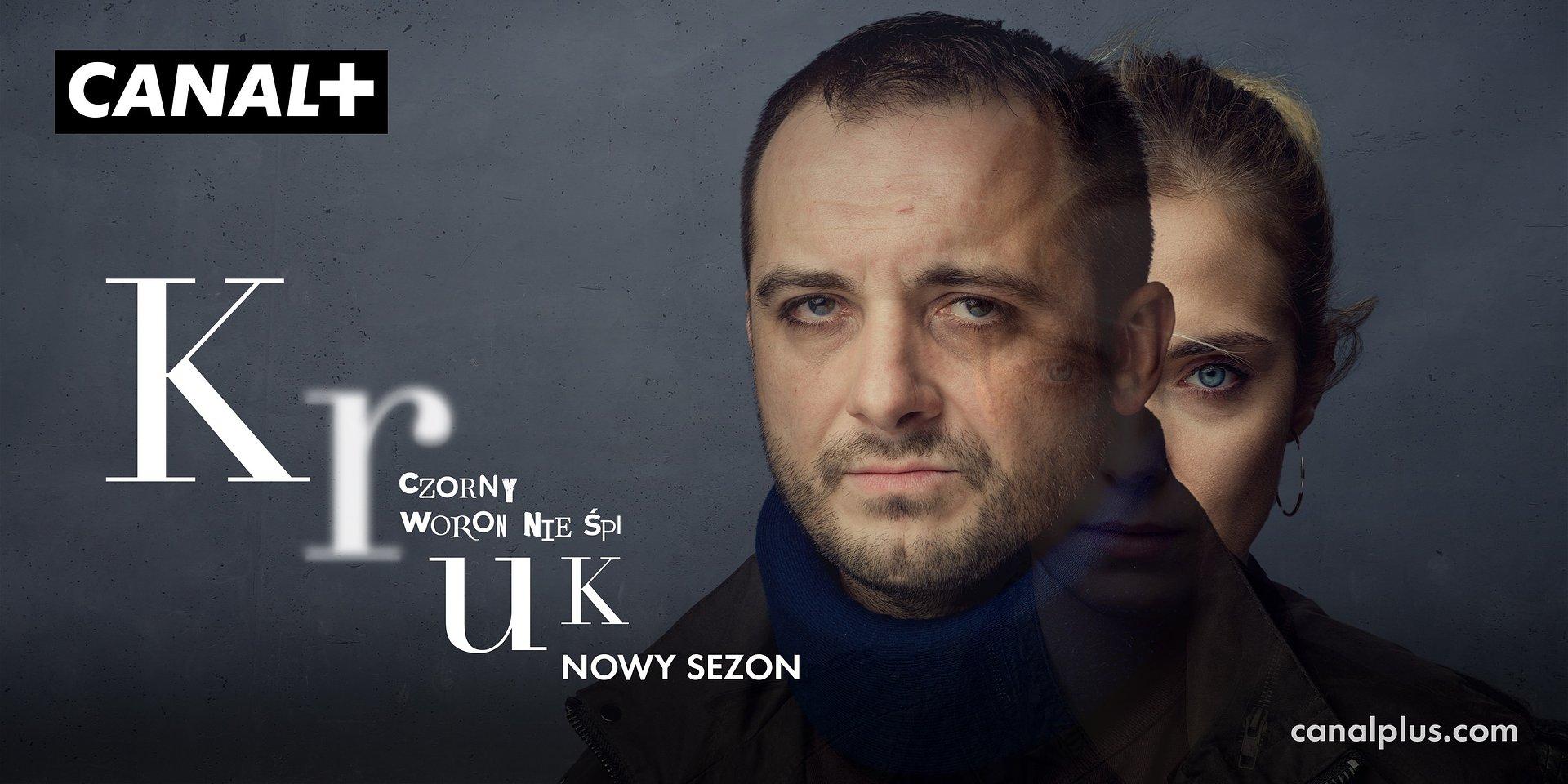 KRUK. CZORNY WORON NIE ŚPI – CANAL+ prezentuje oficjalny tytuł i plakat nowego sezonu serialu