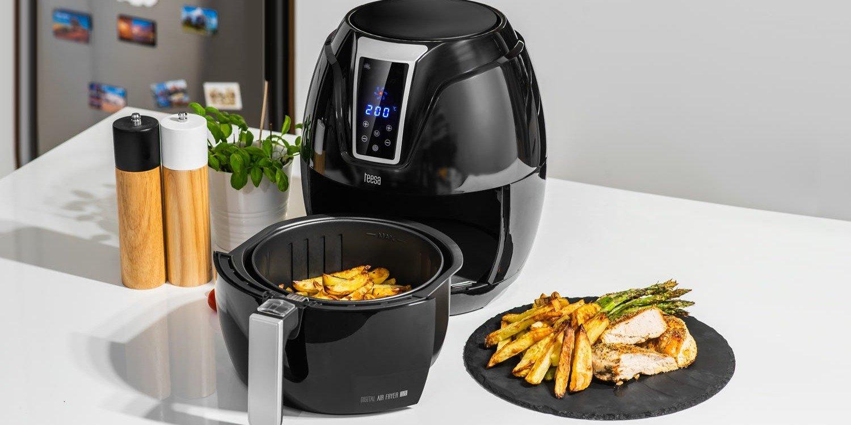 Zdrowe gotowanie dzięki frytkownicy beztłuszczowej Teesa Air Fryer