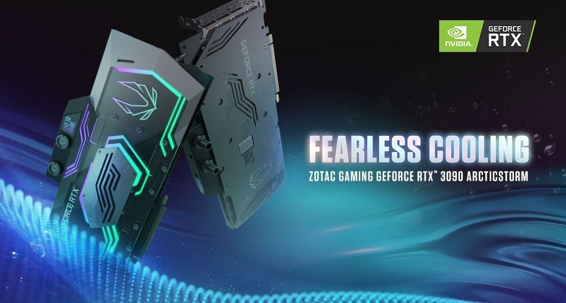 ZOTAC GAMING ArcticStorm dołącza do kart z serii GeForce RTX™ 30