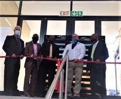 The new Ekhaya Mall opens in Embalenhle, Mpumalanga