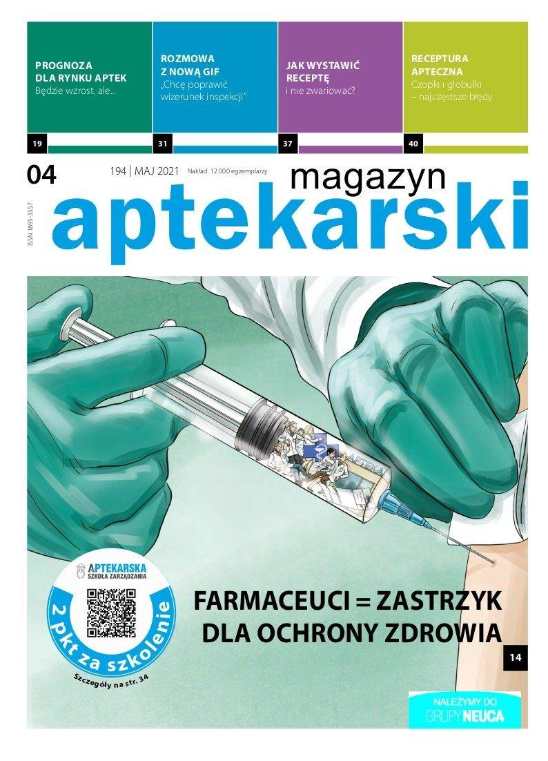 """""""Magazyn Aptekarski"""", maj 2021"""