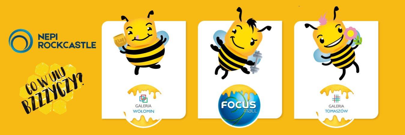 NEPI Rockcastle wspiera pszczoły