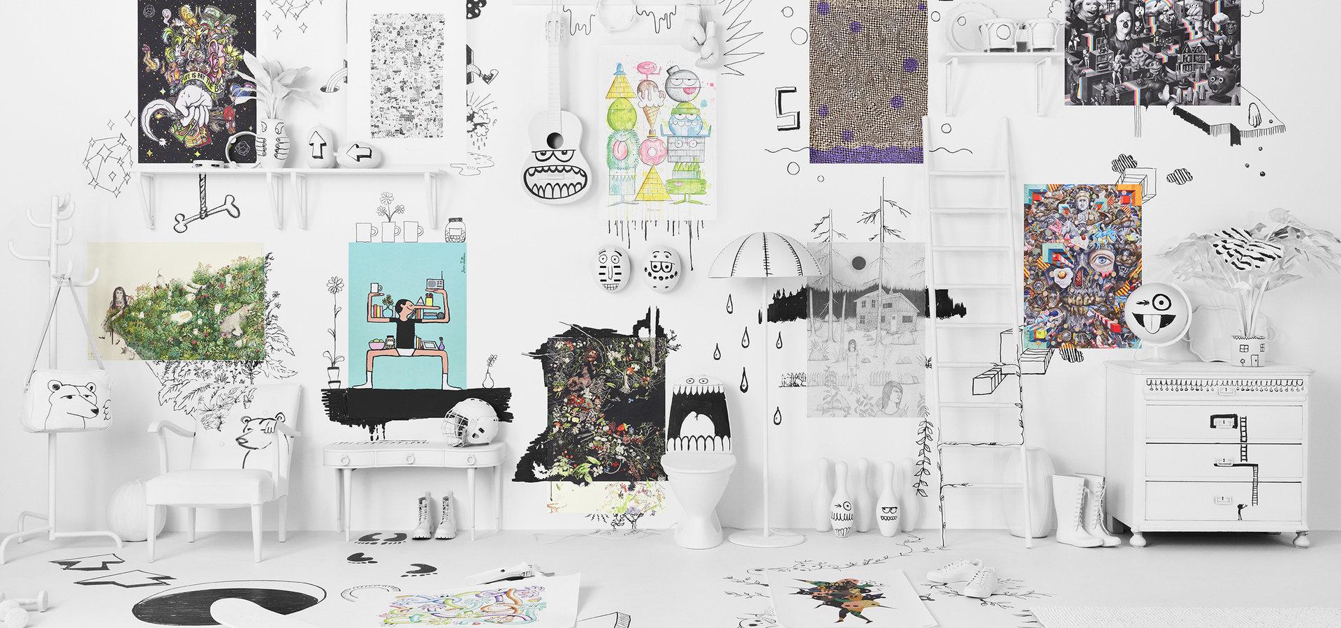 Limitowana kolekcja IKEA ART EVENT 2017. Sztuka rysunku