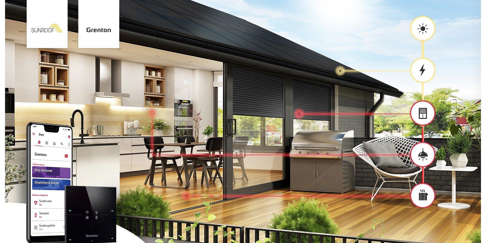 Energia słoneczna i smart home. Grenton został partnerem technologicznym SunRoof