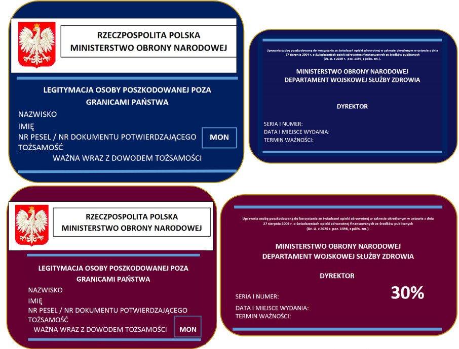 Rozporządzenie MON w sprawie dokumentów potwierdzających uprawnienia do korzystania ze świadczeń