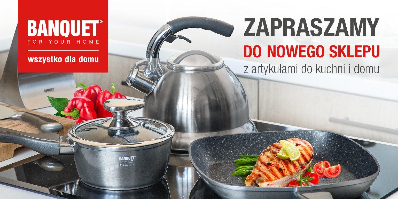 Banquet w CH Pogoria – wyposaży kuchnię od A do Z!