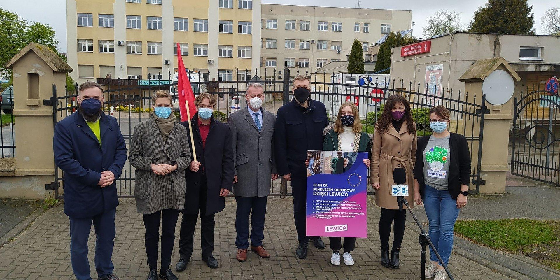 Lewica w Siedlcach o Europejskim Funduszu Odbudowy
