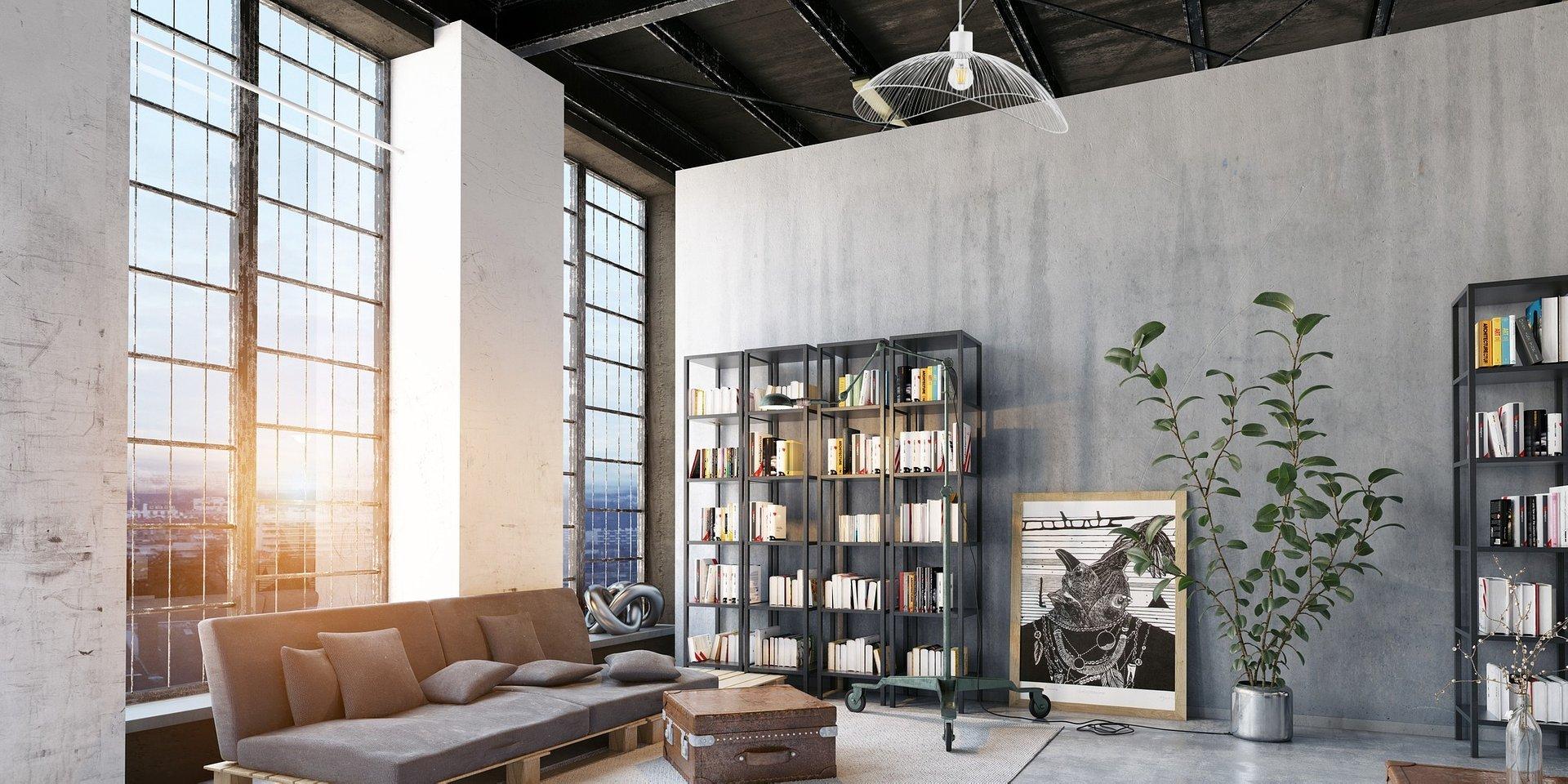 Beton we wnętrzach – stylowa prostota!