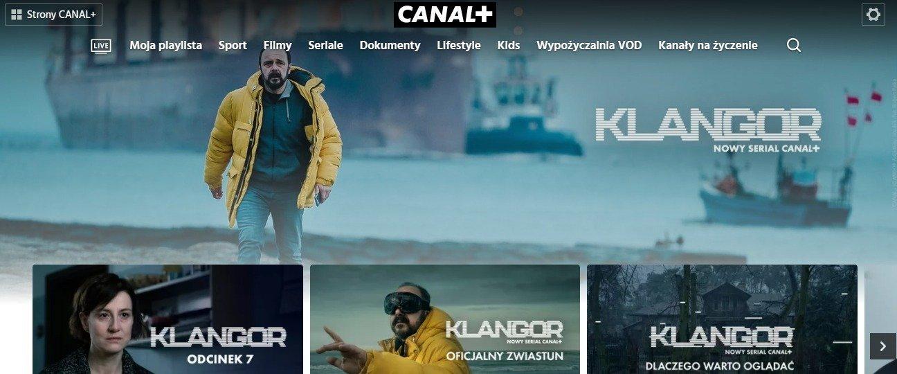 Wszystkie odcinki serialu KLANGOR dostępne już teraz na CANAL+ online!