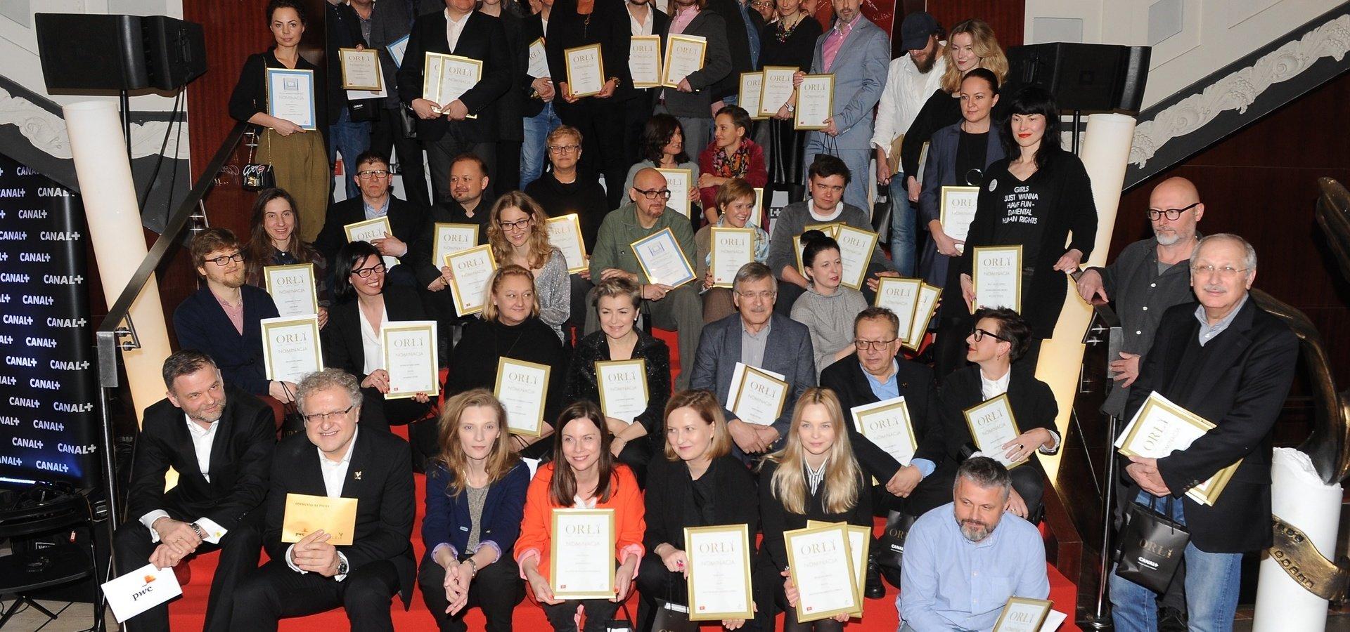 Gala Polskich Nagród Filmowych ORŁY 2017 tylko w CANAL+