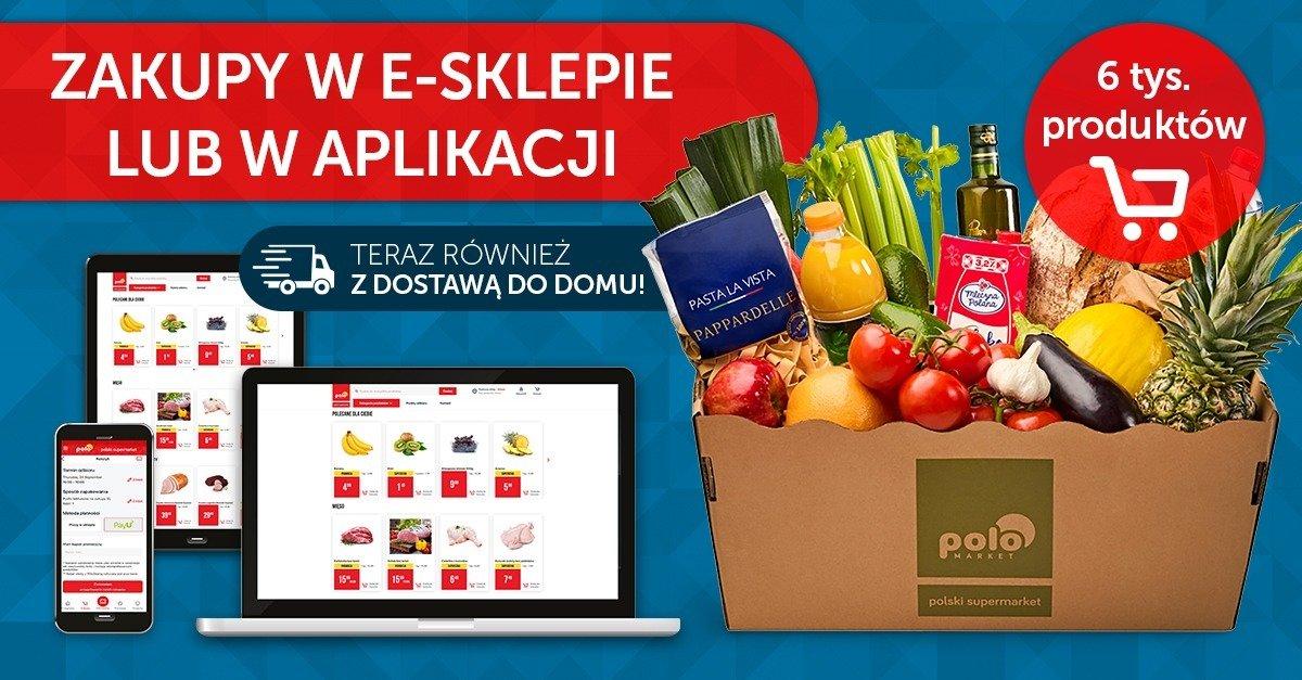 POLOmarket uruchamia sklep internetowy i wprowadza dowóz zamówionych zakupów do domu