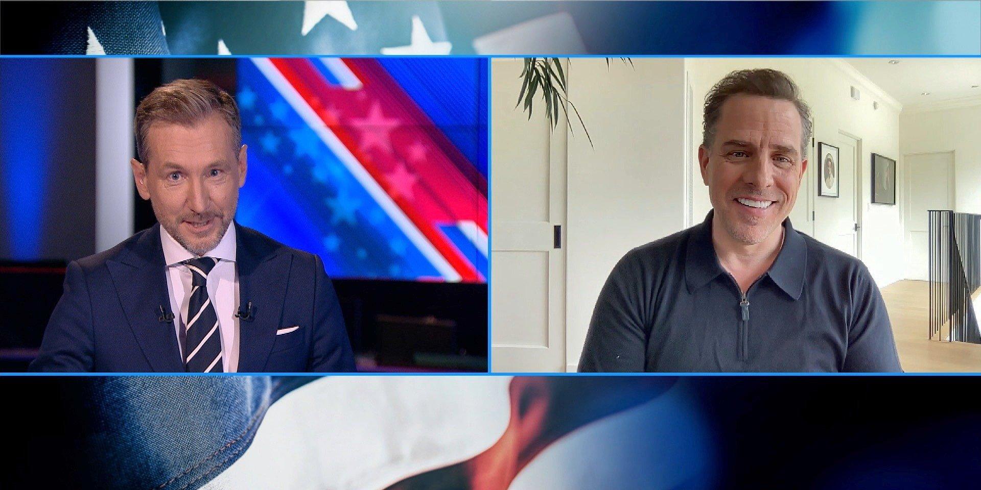 Tylko w TVN24: Hunter Biden w rozmowie z Piotrem Kraśko
