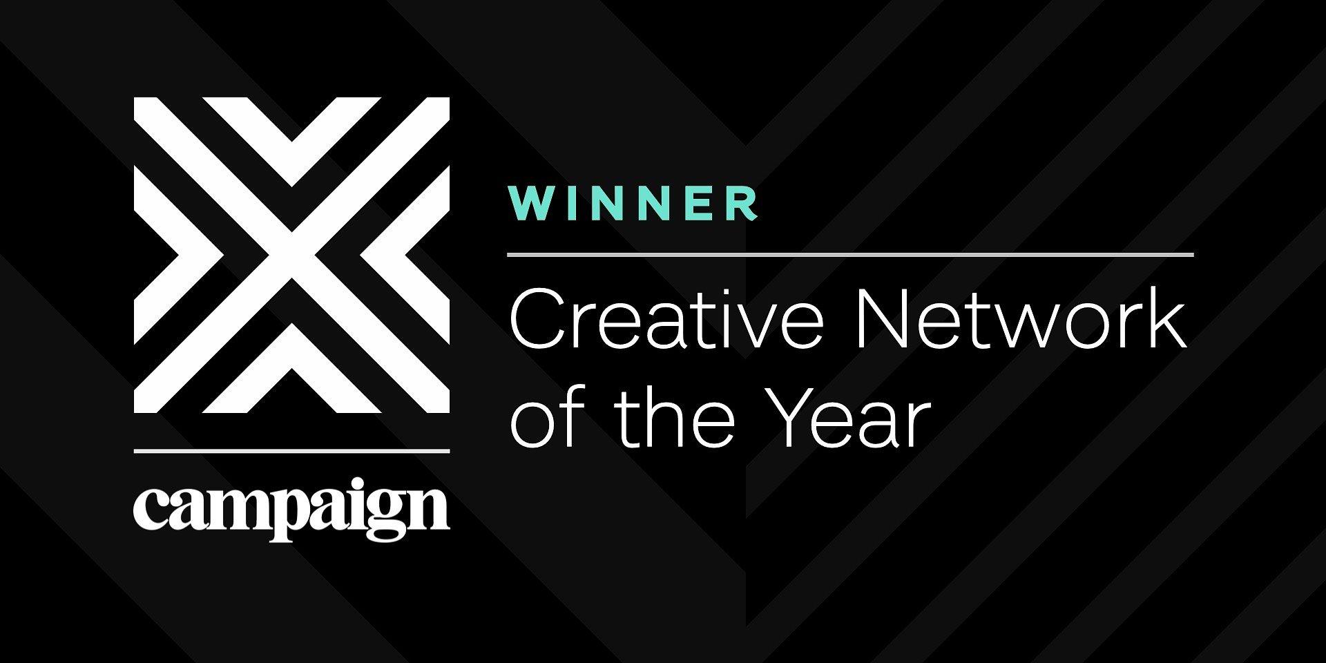 "VMLY&R z tytułem ""Creative Network of the Year 2020"""