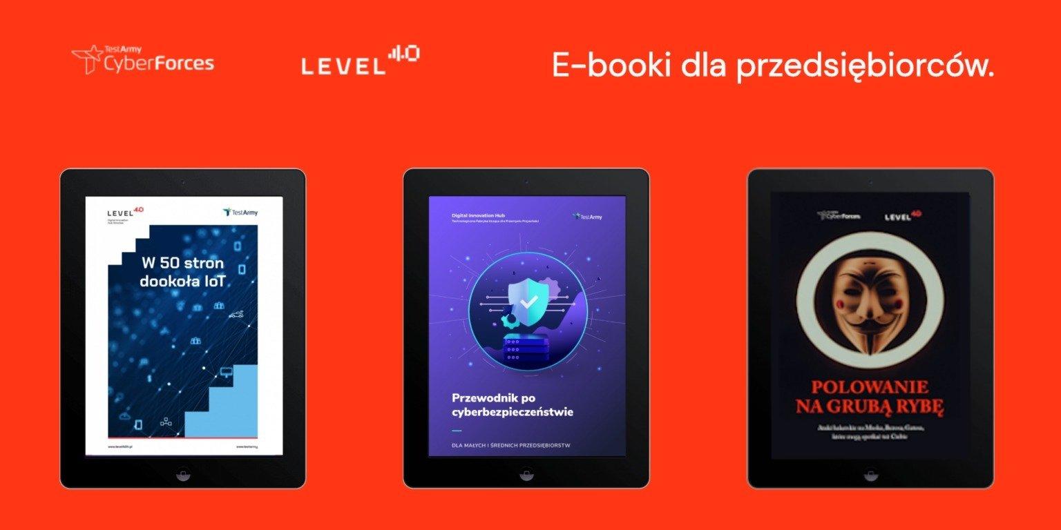 Członkowie DIH dzielą się wiedzą. Zajrzyj do naszych e-booków!