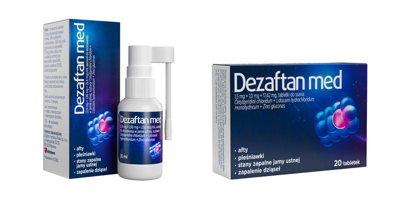 Marka Dezaftan wzbogacona o dwa leki!