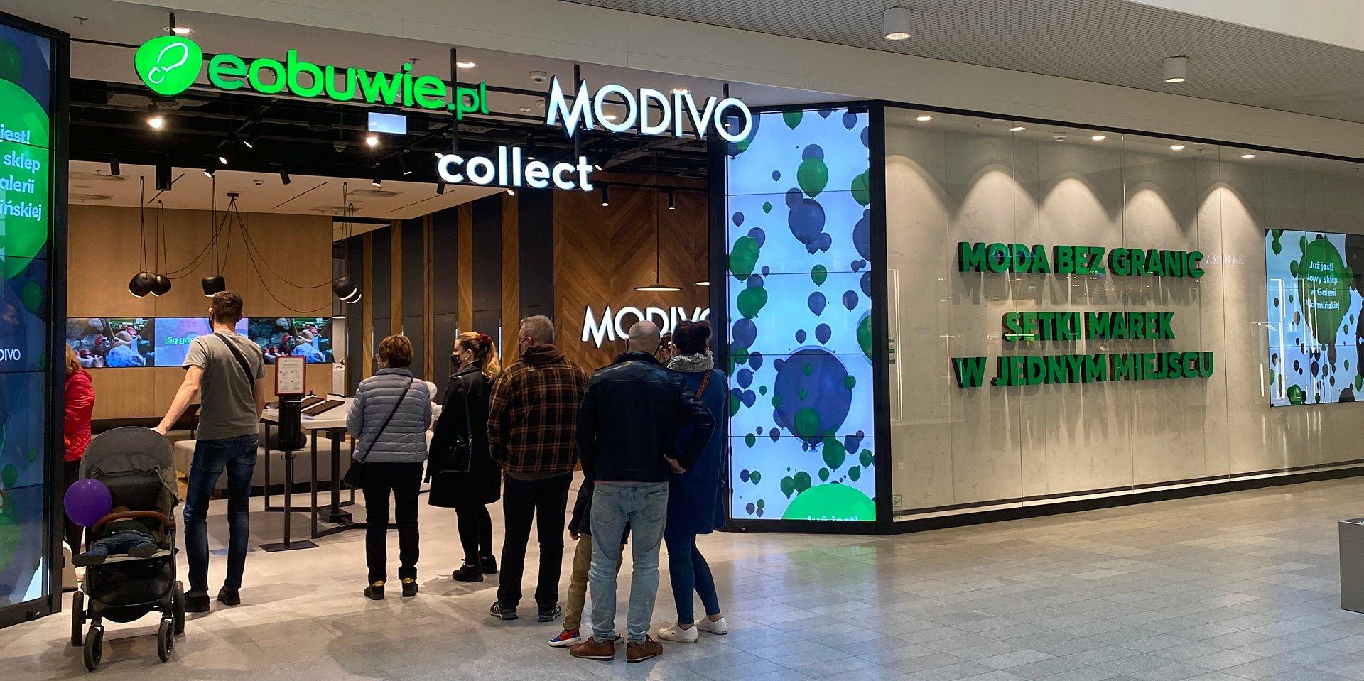 Połączone siły Eobuwie.pl i Modivo Collect w Galerii Warmińskiej