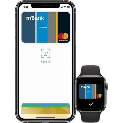 Apple Pay dla klientów firmowych mBanku
