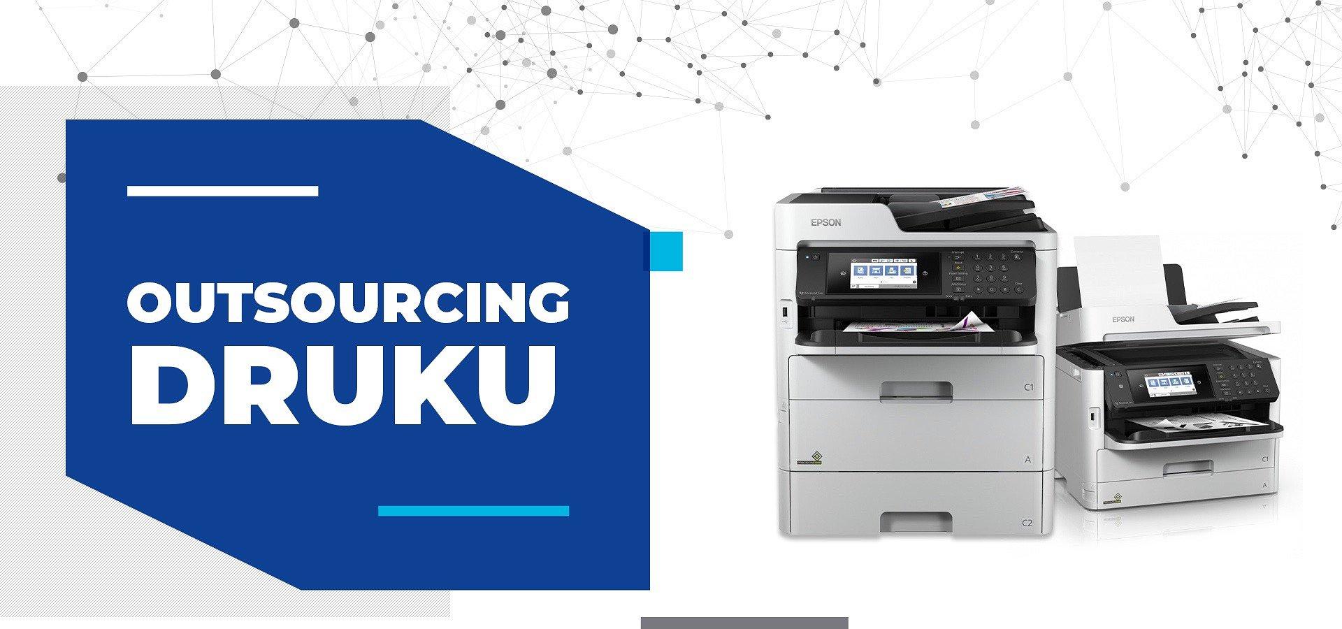 Outsourcing druku – podstawowe źródło oszczędności dla firmy