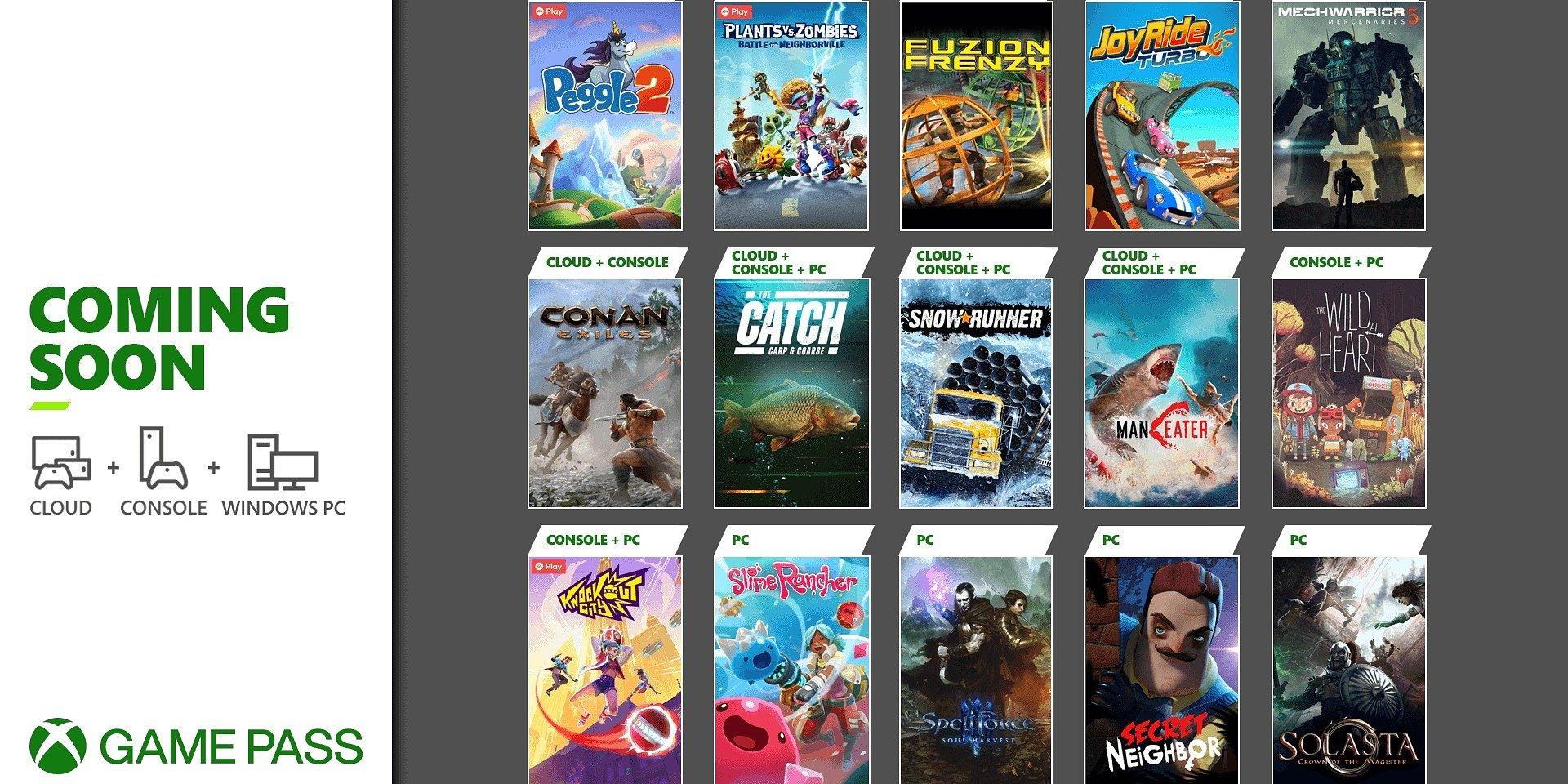 Em breve no Xbox Game Pass: The Wild at Heart, Conan Exiles, Knockout City e muito mais