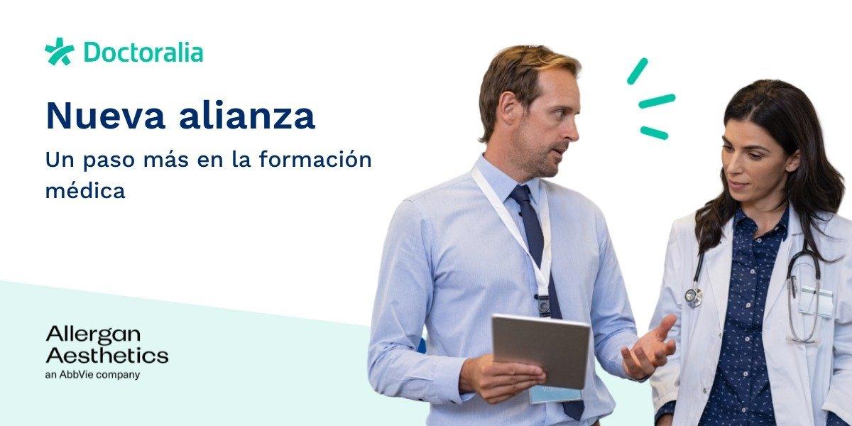 Doctoralia y Allergan colaborarán para potenciar la formación médica digital