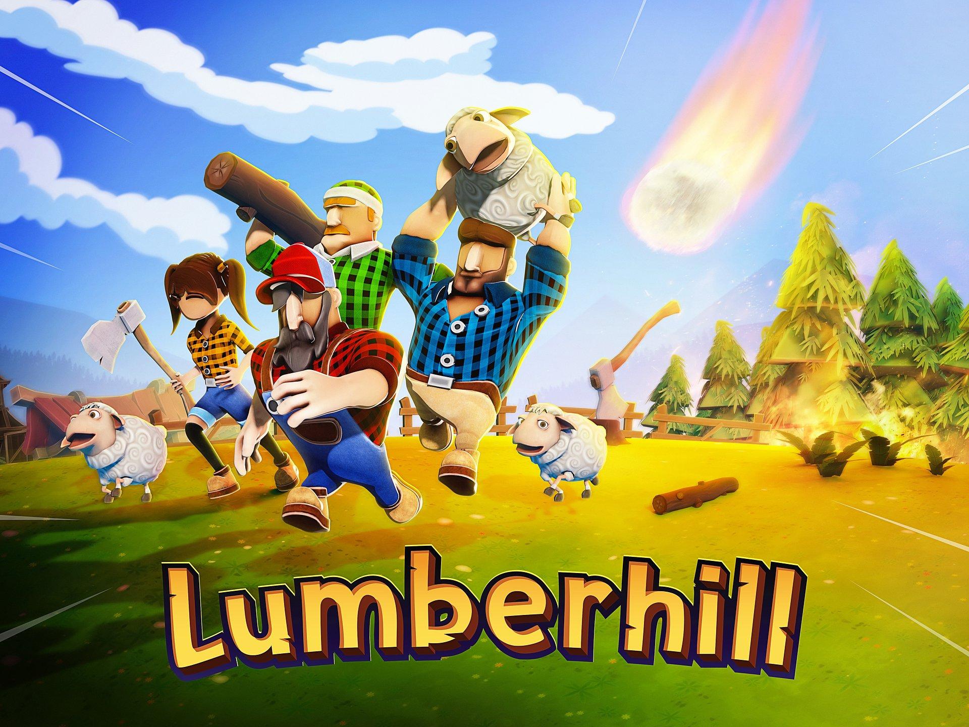Gdzie drwa rąbią, tam owce lecą - przeżyj chaotyczną walkę drwali z siłami natury w Lumberhill