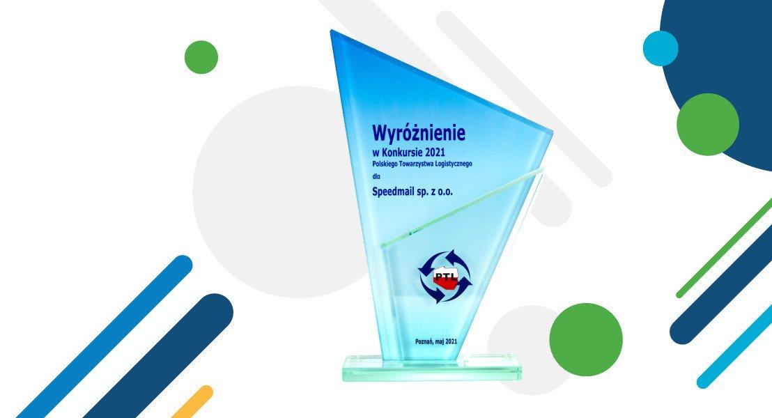 Speedmail wyróżniony w konkursie o Nagrodę Polskiego Towarzystwa Logistycznego