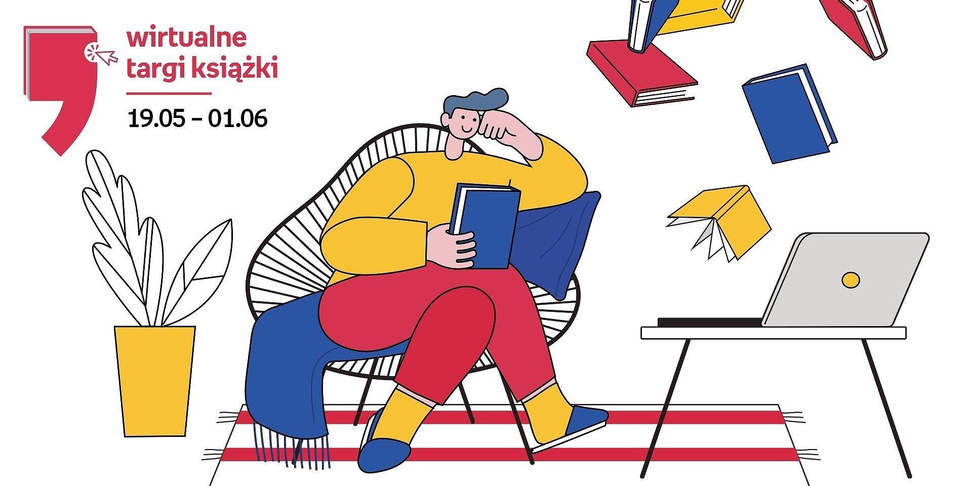 Trwają Wirtualne Targi Książki. Literackie atrakcje na weekend