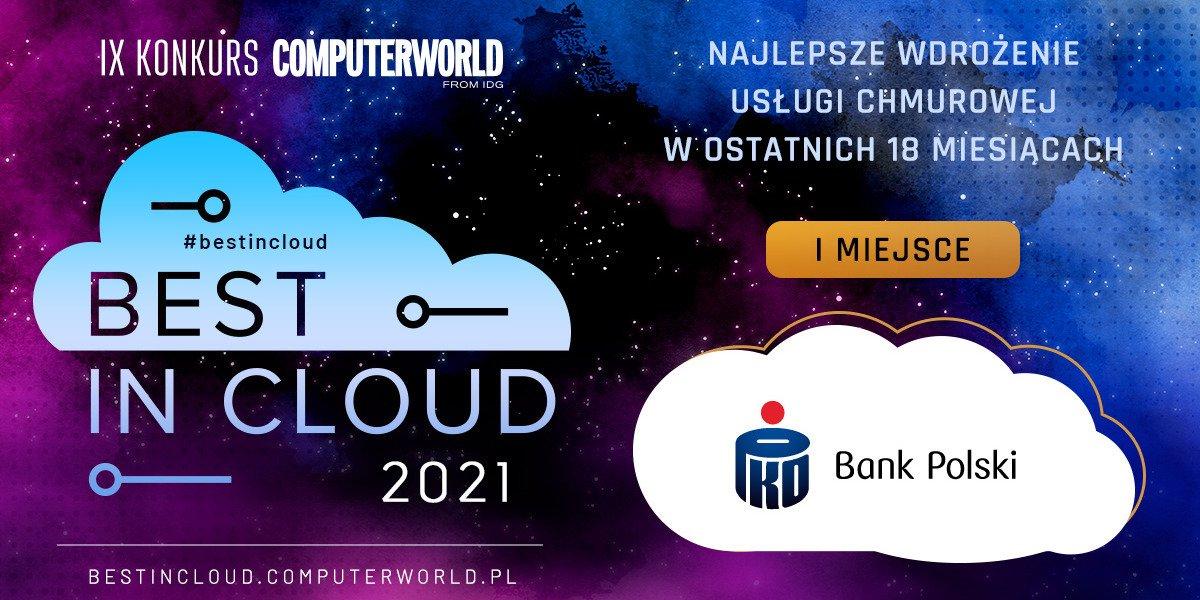PKO Bank Polski zwycięzcą konkursu Best in Cloud