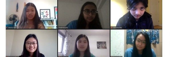 Team USA Wins Second Place at 2021 European Girls' Mathematical Olympiad