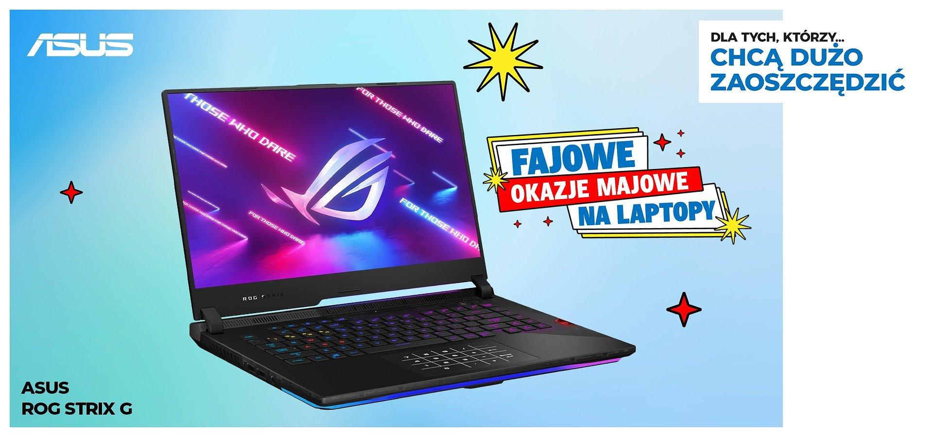 Kup laptop Asus i odbierz rozszerzoną gwarancję za 1 zł!