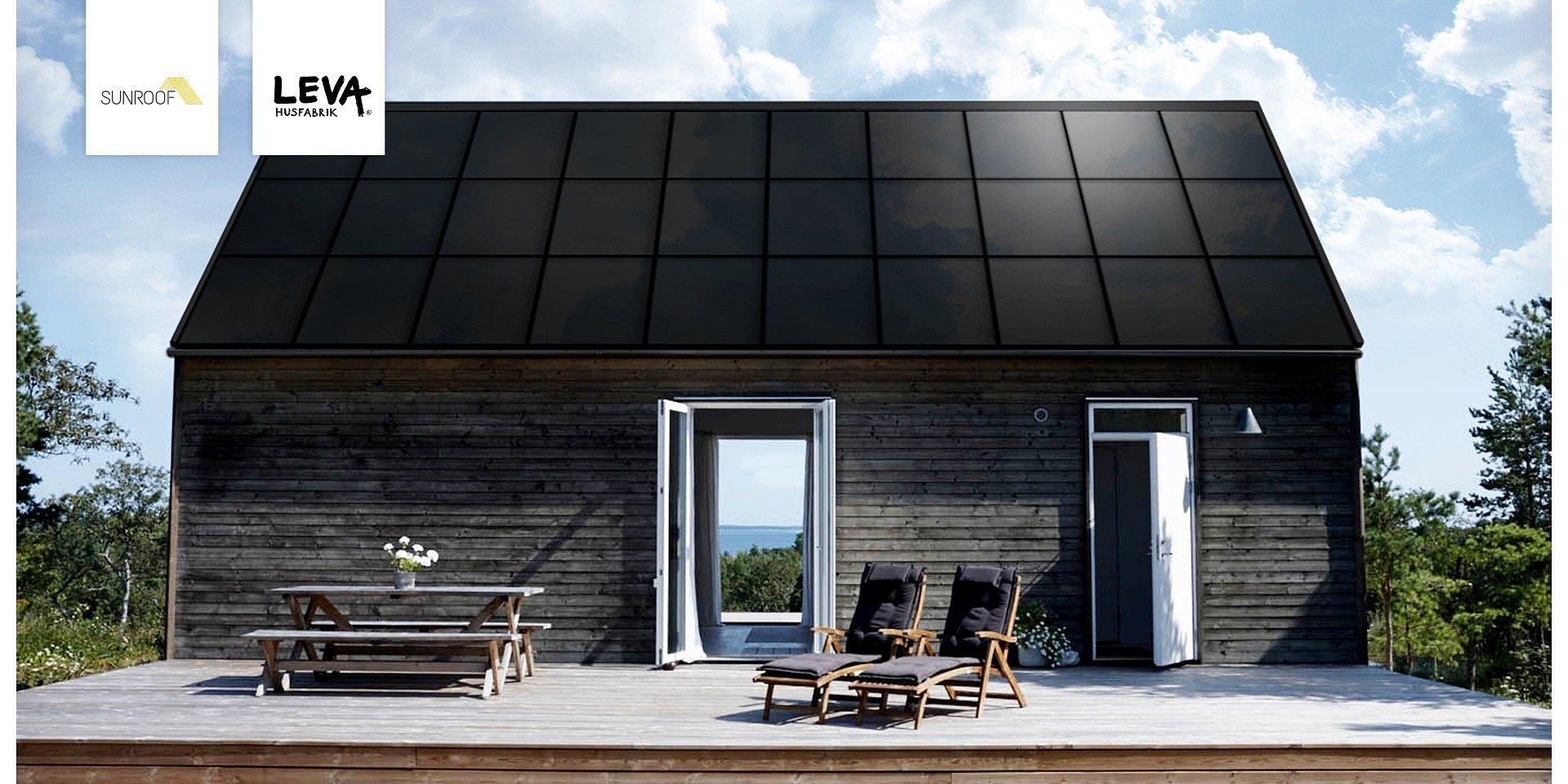 SunRoof Sweden partners up with LEVA Husfabrik