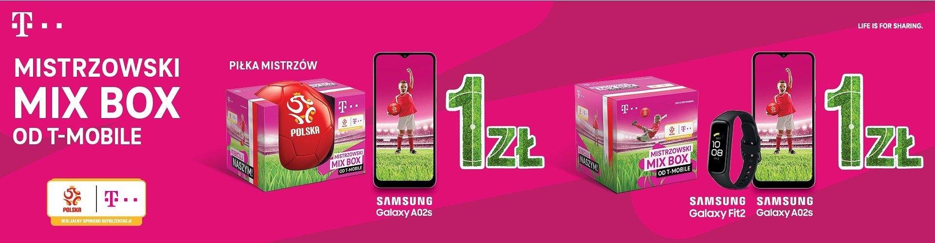 Startuje kampania mistrzowskich MIX BOX-ów od T-Mobile