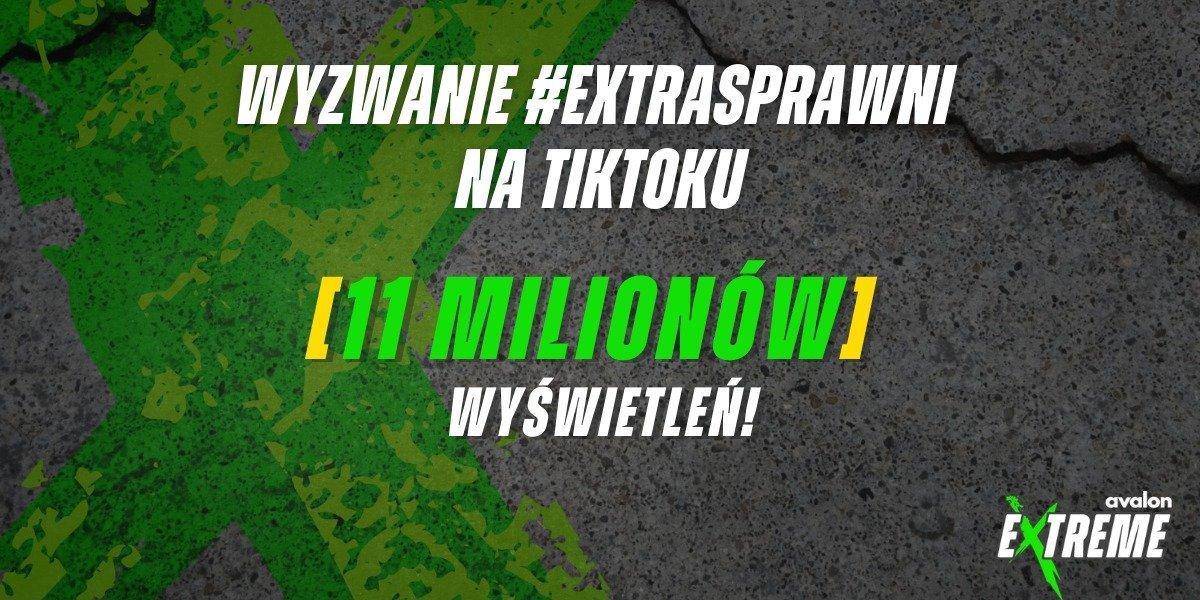Akcja Fundacji Avalon i AMP Futbol #EXTRAsprawni z milionowymi obejrzeniami na TikToku!