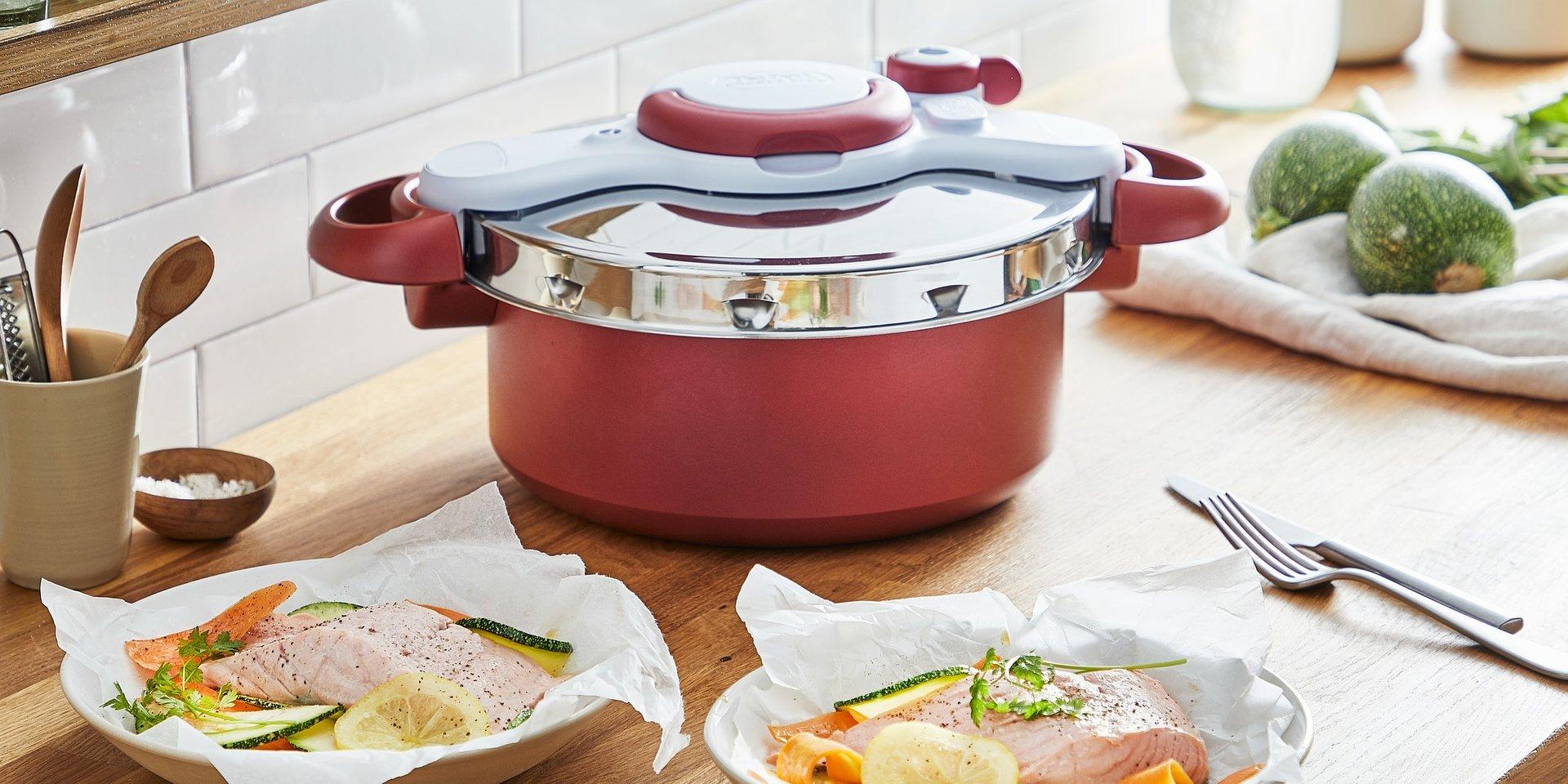 Panela de pressão ClipsoMinut® Duo da Tefal: Cozinhar nunca foi tão fácil e rápido!