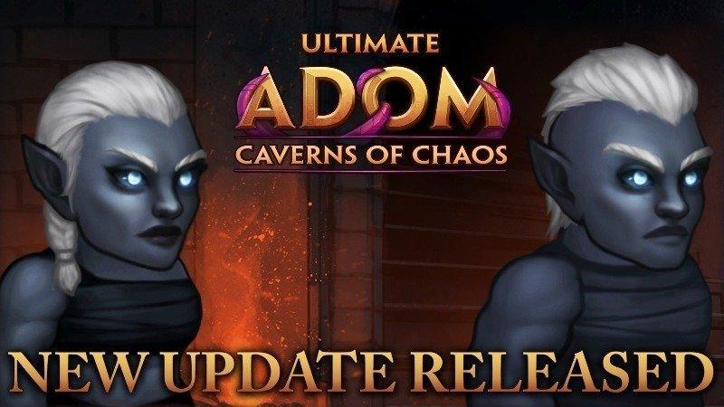Новое обновление для Ultimate ADOM - Caverns of Chaos и неделя, посвященная борьбе с раком